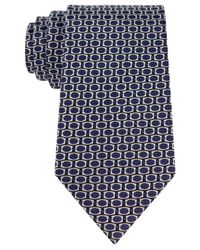 Sean John - Blue Honeycomb Neat Tie for Men - Lyst