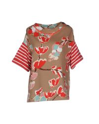 Erika Cavallini Semi Couture - Multicolor Sweatshirt - Lyst