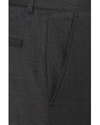 HUGO - Gray Extra-slim-fit Trousers In New-wool Blend: 'hiiw' for Men - Lyst