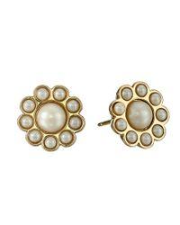 Kate Spade | Black Park Avenue Pearls Stud Earrings | Lyst