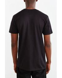 Urban Outfitters | Black Tropical Geo Tee for Men | Lyst