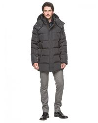 Andrew Marc | Black Summit Down Filled Bomber Jacket for Men | Lyst