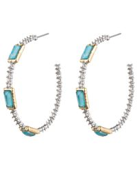Alexis Bittar - Blue Spike Drop Earrings - Lyst