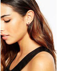 ASOS - Red Opulent Swing Earrings - Lyst