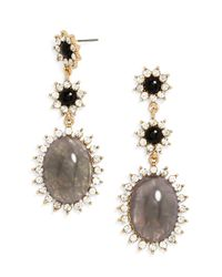 BaubleBar - Gray Turtle Dove Drops - Lyst