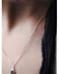 Free People - Metallic Mantra Drop Lariat - Lyst
