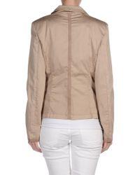 Armani Jeans - Natural Blazer - Lyst