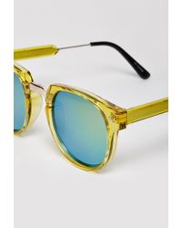 Forever 21 - Yellow Spitfire Teddy Boy 2 Sunglasses - Lyst