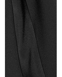 The Row - Black Masha Stretch-Crepe Skinny Pants - Lyst
