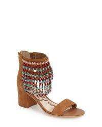 Sam Edelman | Brown 'sibel' Sandal | Lyst