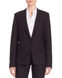 Theory | Black Dief Cavalry Twill Wool-blend Jacket | Lyst