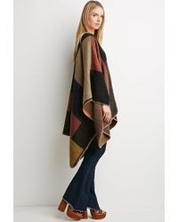 Forever 21 - Multicolor Block-Patterned Shawl - Lyst
