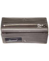 Marc By Marc Jacobs - Gray Too Hot To Handle Tomoko Wallet - Lyst