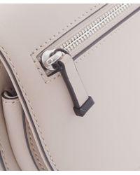 Rebecca Minkoff | Gray Mini Astor Saddle Bag | Lyst