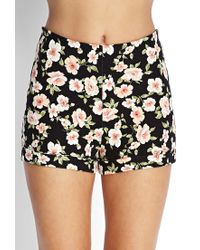 Forever 21 - Multicolor Floral Mini Skirt - Lyst