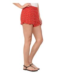 Billabong - Red Island Escape Shorts - Lyst