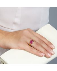 Pippa Small - Pink Ruby Greek Ring - Lyst