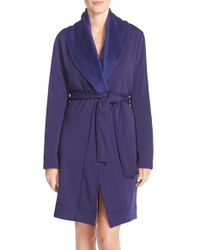 UGG | Purple 'blanche' Robe | Lyst