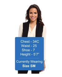 Calvin Klein - Black Flyaway Sweater Vest - Lyst