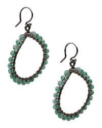 Chan Luu | Brown Earrings | Lyst