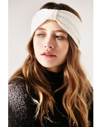 Urban Outfitters - Natural Quilted Headwrap - Lyst