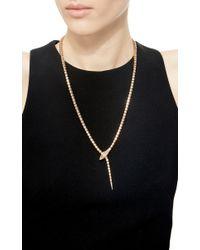 Sidney Garber | Pink Wrap Around Snake Necklace | Lyst