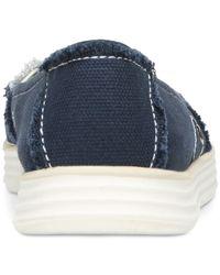 Dr. Scholls - Blue Waverly Slip-on Sneakers - Lyst