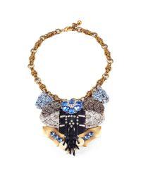Lulu Frost - Metallic 100 Year Necklace #4 - Lyst