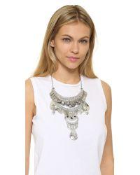Raga - Metallic Gypsy Coin Statement Necklace - Lyst