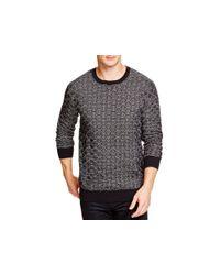 Zanerobe - Black Hash Knit Sweater for Men - Lyst