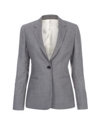 Paul Smith - Gray Classic Wool Blazer  - Lyst