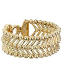 Giles & Brother | Metallic Thin Apache Bracelet | Lyst