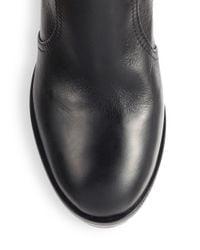 Tory Burch - Black Sullivan Knee-High Leather Boots - Lyst
