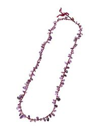 Nakamol | Multicolor Stone Shards Necklace-amethyst | Lyst
