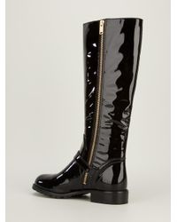 Marc By Marc Jacobs | Black 'core Flat' Ankle Boots | Lyst