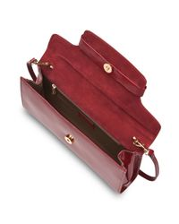 L.K.Bennett | Red Laura Clutch | Lyst