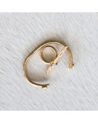 Kelly Wearstler | Metallic Faxon Ring | Lyst