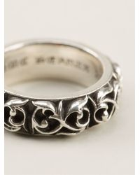 Chrome Hearts | Metallic Engraved Ring | Lyst