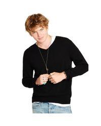 Denim & Supply Ralph Lauren - Black Wool-cashmere Sweater for Men - Lyst