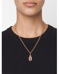 Irene Neuwirth | 18kt Gold And Pink Tourmaline Pendant | Lyst