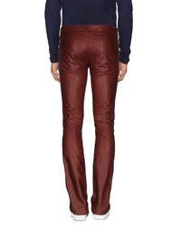 Trussardi - Brown Casual Trouser for Men - Lyst