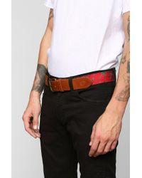 Obey - Red Healer Belt for Men - Lyst