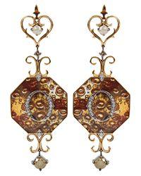 Bochic - Purple Icon Earring - Lyst