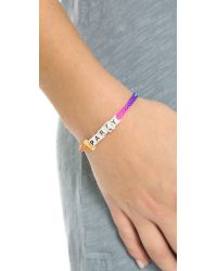 Venessa Arizaga | Multicolor Pizza Party Bracelet - Rainbow | Lyst