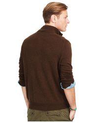 Polo Ralph Lauren | Brown V-neck Sweater for Men | Lyst
