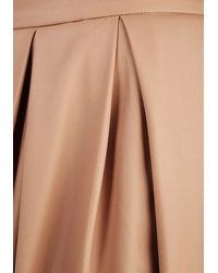 Moon Collection - Brown Neutral All Along Skirt - Lyst