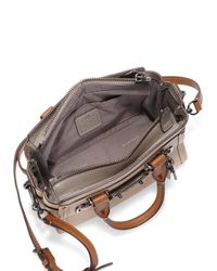 COACH - Natural Swagger 20 Colorblock Leather Satchel - Lyst