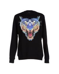 Marcelo Burlon | Black Sweatshirt for Men | Lyst