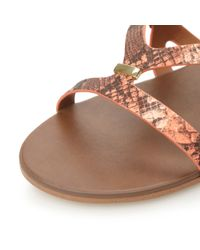 Steve Madden | Pink Comly Sm Strappy Sandals | Lyst