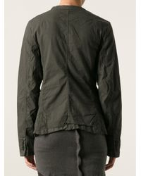 Rundholz - Green Oil Stretch Jacket - Lyst
